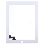 White For iPad 2 Touch Screen Digitizer Repair Part (High Quality)