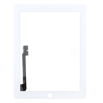 White For iPad 4 Digitizer Touch Screen Replacement Part (High Quality)