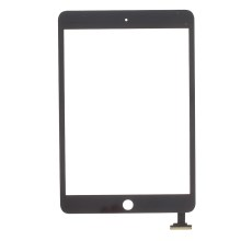 White For iPad Mini Screen Touch Digitizer (Tempered Glass + OEM Flex Cable + OEM Capacitive Screen)