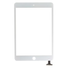 Black For iPad Mini Screen Touch Digitizer (Tempered Glass + OEM Flex Cable + OEM Capacitive Screen)