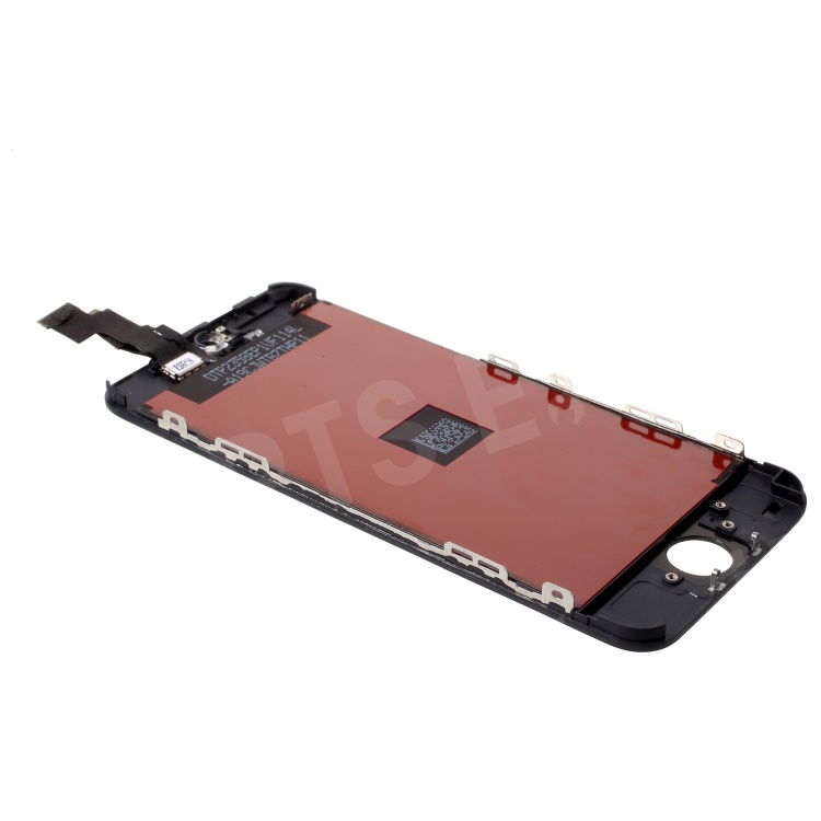 For iPhone 5c LCD Assembly ( LCD Screen + Glass Lens) & (OEM Camera Holder + Earpiece Mesh + Sensor IC Holder )