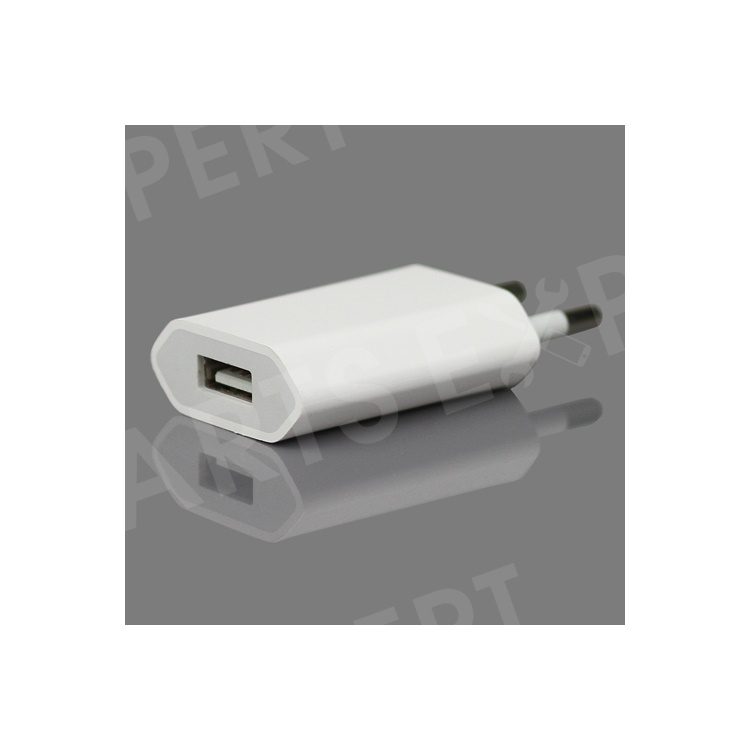 OEM Material Apple USB Power Adapter A1400 for iPhone iPod - Euro Plug